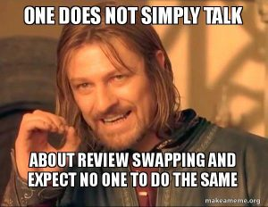 Review swap meme