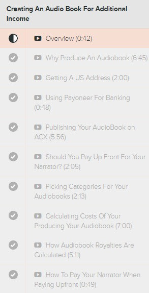 My self publishing blueprint review dont buy emekas course wo module 6 creating an audio book for additional income malvernweather Choice Image
