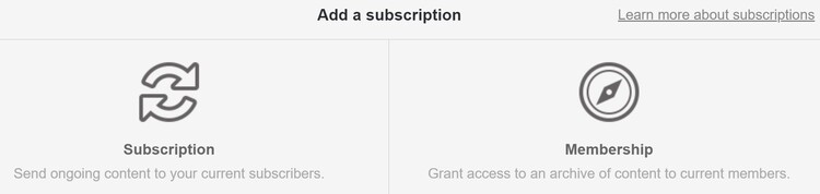 Subscription vs Membership in Gumroad
