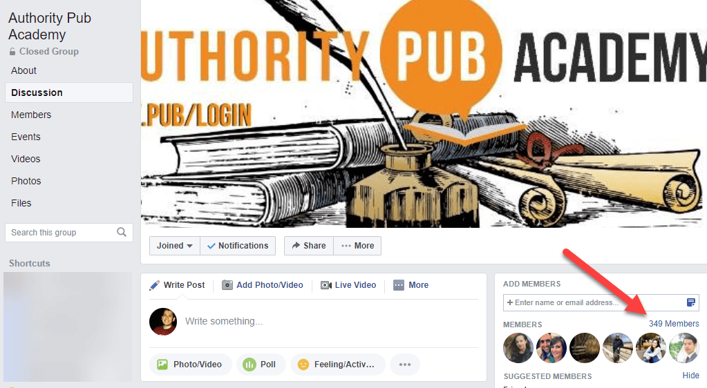 Authority Pub Academy Facebook Group2