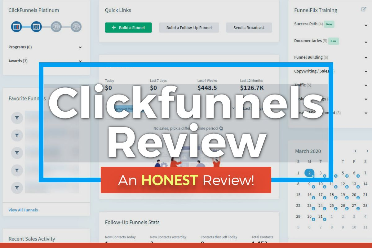 How To Have First Page Of Clickfunnels Without A /