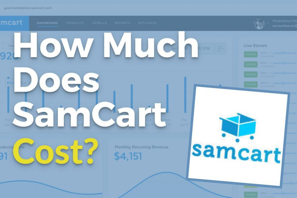 How Much Does SamCart Cost