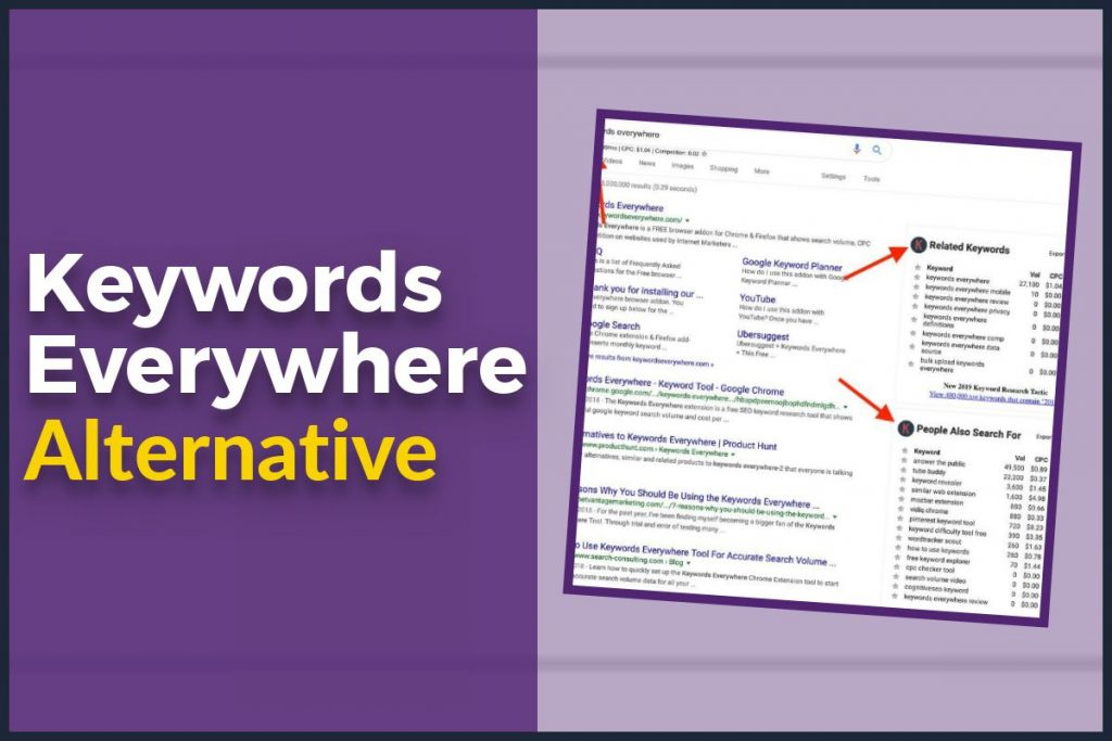Keywords Everywhere Alternative