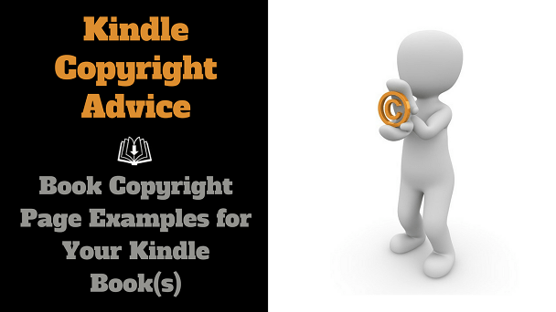 Kindle ebook copyright examples