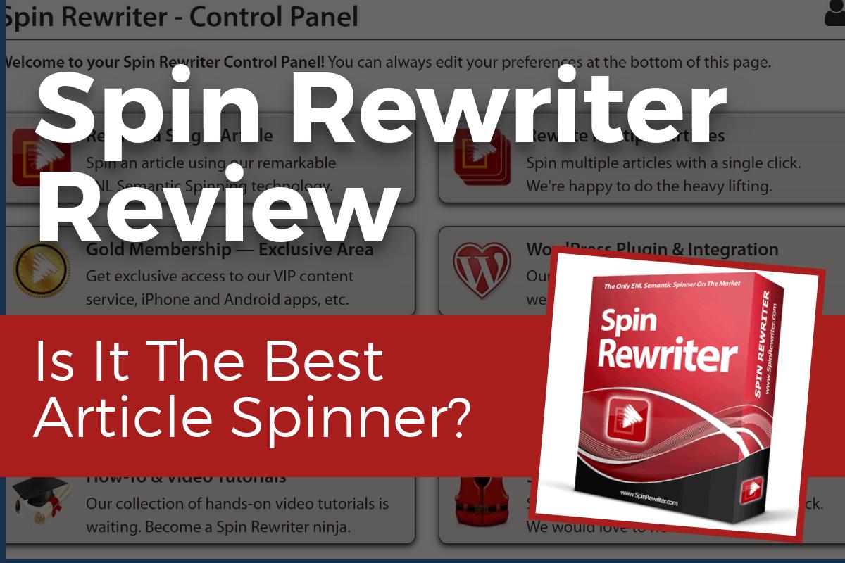 Spin Rewriter Review - Hybrid Traffic