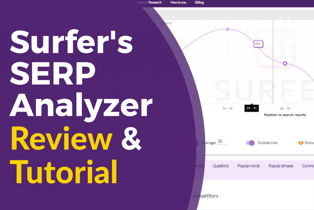 Surfer SEO SERP Analyzer Tutorial