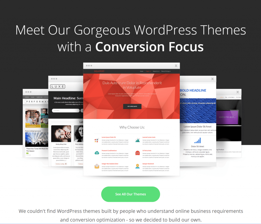 ThriveThemes WordPress Themes