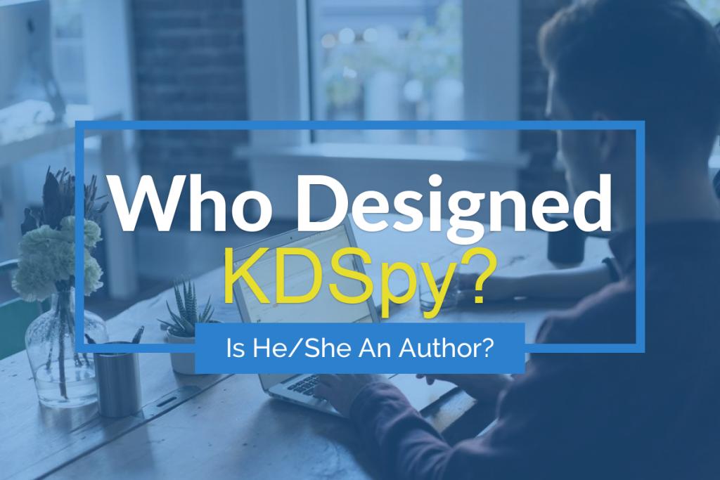 Who Designed KDSpy?