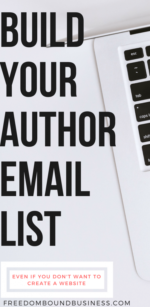 build author email list with kindle books