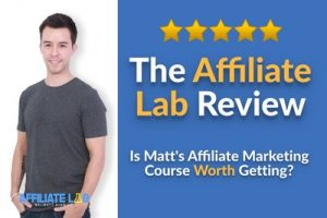 Affiliate Lab by Matt Diggity Review