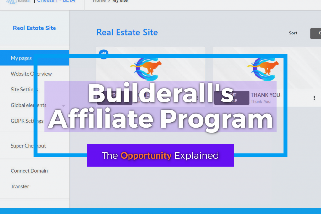 Builderall Affiliate Program - Featured Image