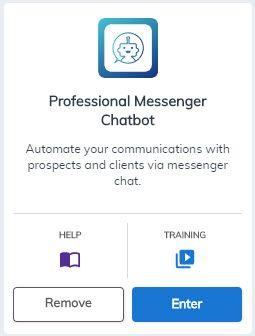 Professional Messenger Chatbot