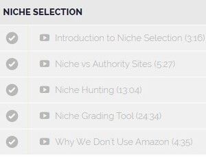 TAL Niche Selection Lessons