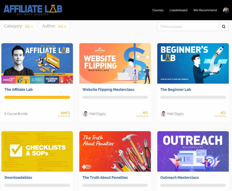 The Affiliate Lab Members Area