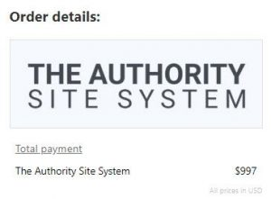 The Authority Site System Pricing