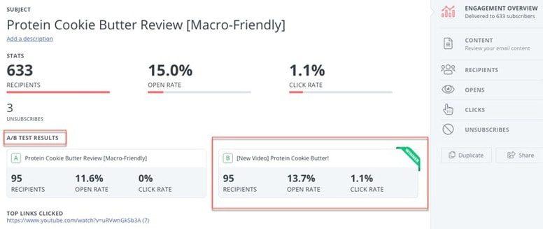 email marketing platform stats