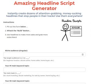 funnel scripts free