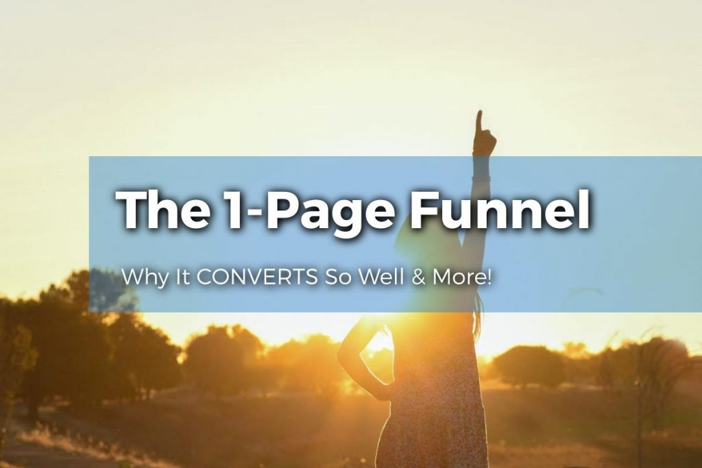 1 Page Funnel Featured Image