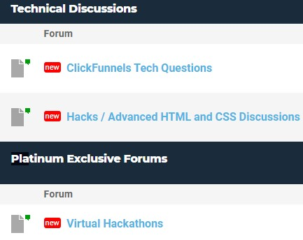 Funnel Hacker Forum Community
