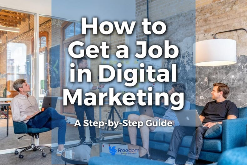 How to Get a Job in Digital Marketing Featured Image