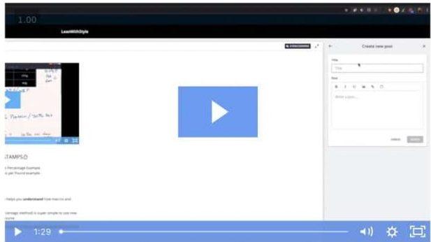 create courses thinkific video file