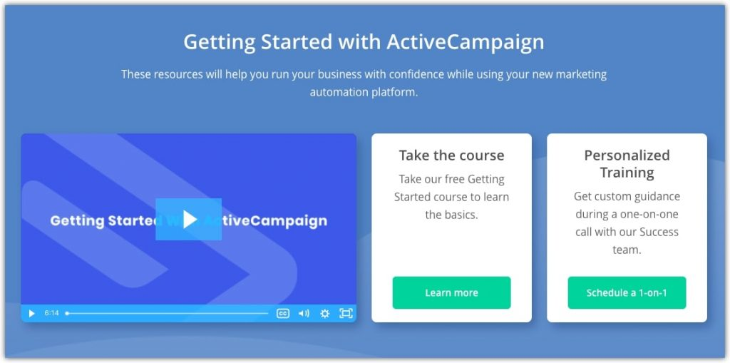 email marketing service training