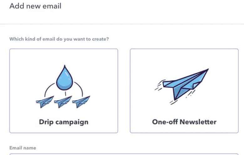 Podia Email Marketing Options