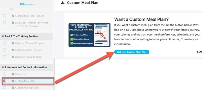 sign ups for upsells