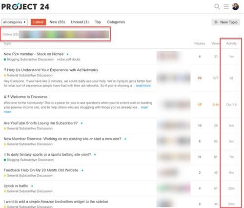 project 24 community