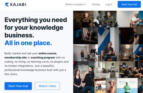 kajabi online course platform