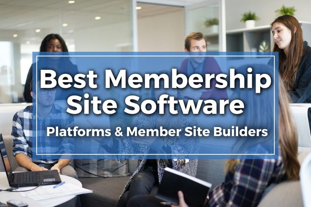 membership site software featured image