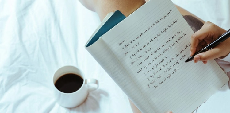 want to learn writing
