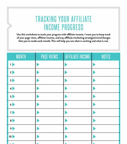 track online income