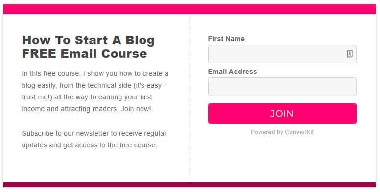 enter her blogging world